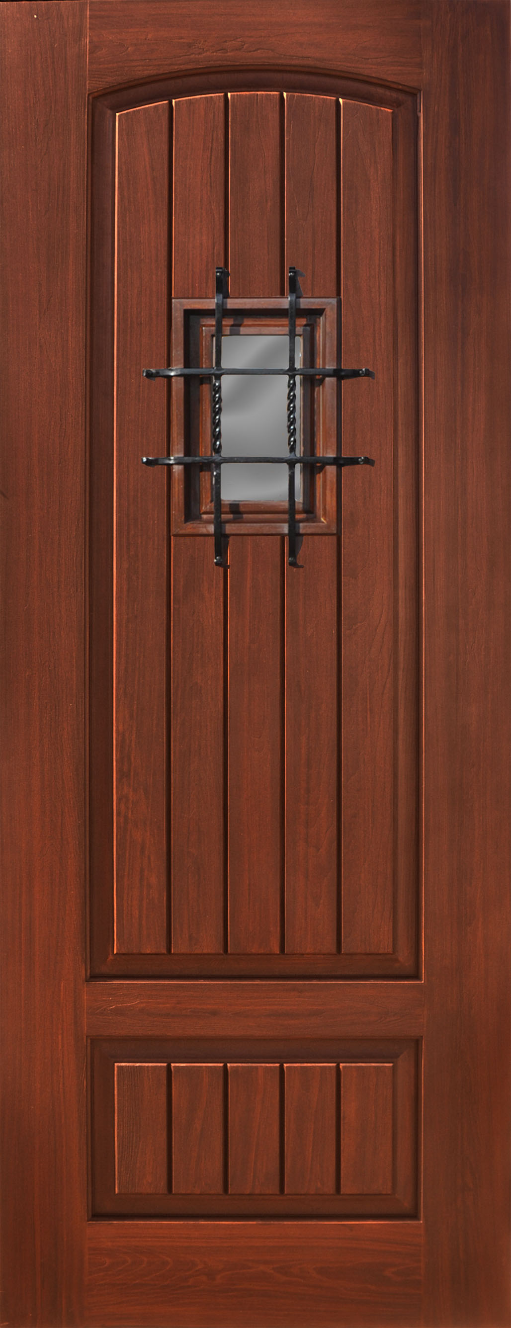 Fiberglass Estancia 2 Panel V-Groove Madrid Door & Fiberglass Estancia 2 Panel V-Groove Madrid Door u2013 The Front Door ...