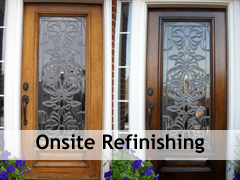 onsite-refinishing & Onsite Wood Door Refinishing u2013 The Front Door Company