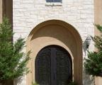 Trinity Iron Arched Door