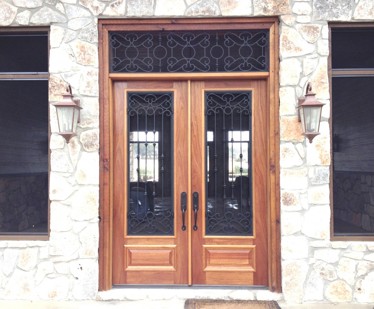 991 #AA5D22 Wood And Iron Door Gallery – The Front Door Company save image Wood And Iron Doors Exterior 41171200