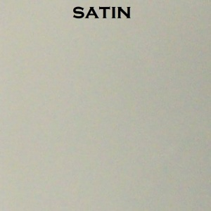 Satin glass