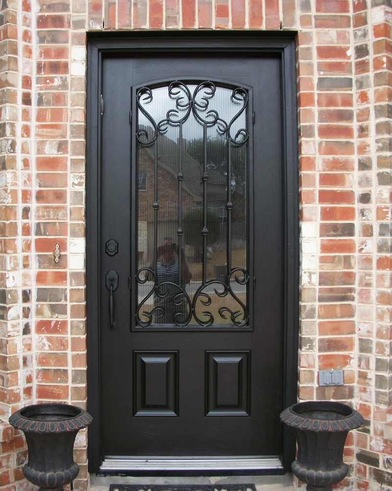 Fiberglass entry door gallery the front door company for Front door entrances