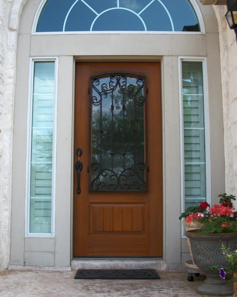 Fiberglass Exterior Doors : Fiberglass entry door gallery the front company