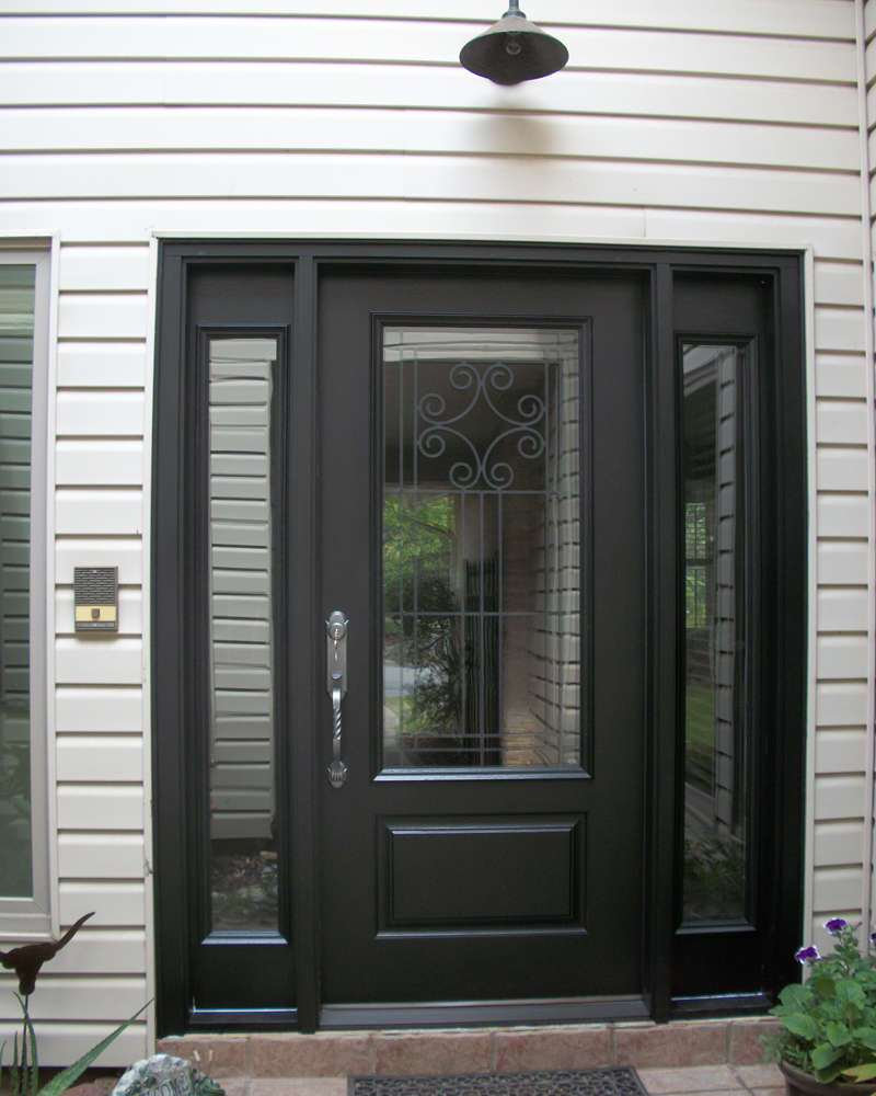 fiberglass entry door gallery the front door company. Black Bedroom Furniture Sets. Home Design Ideas