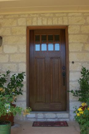 #2177-8 Lite Craftsman Bevel IG without Shelf & Craftsman Wood Door Gallery u2013 The Front Door Company