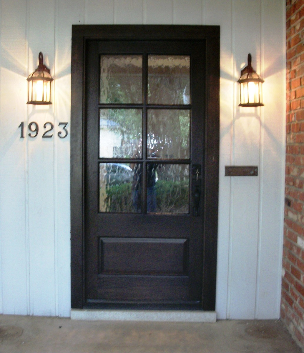 Divided lite wood door gallery the front door company for Exterior door companies