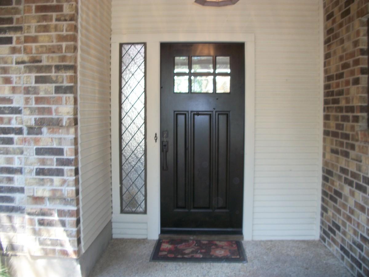 #2197-6 Lite Craftsman Bevel IG without Shelf Raised Panels & Craftsman Wood Door Gallery u2013 The Front Door Company pezcame.com