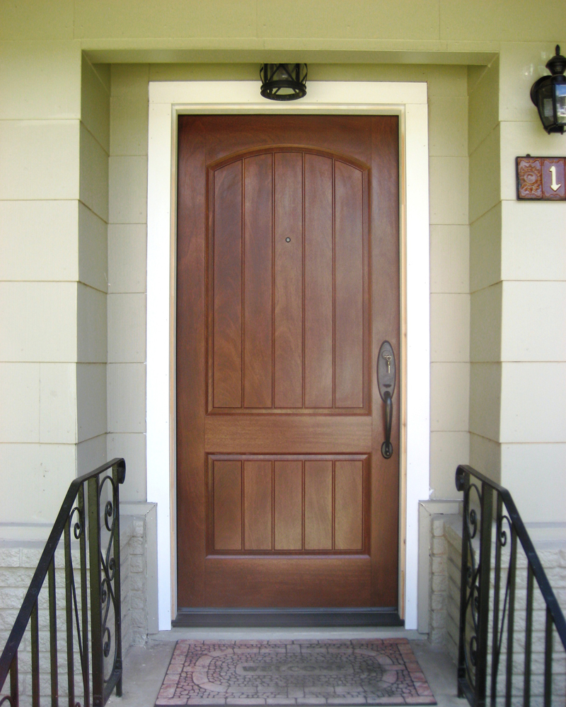 Fiberglass entry door gallery the front door company for Entry door companies