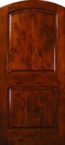 Knotty Alder Arch 2panel 6 copy
