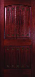 Mahogany 2 Panel VGrooves 68 Clavos