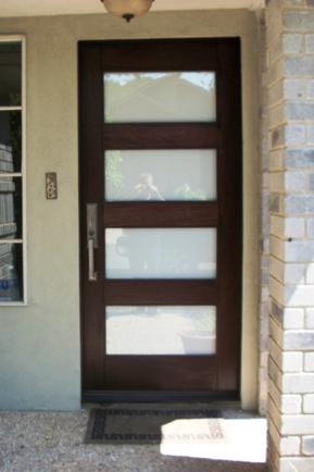 Modern Wood Door Gallery The Front