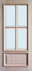 3-0x6-8_Mahogany_4_Lite_1_Panel