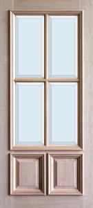3-0x6-8_Mahogany_4_Lite_2_Panel