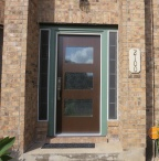 C Robinson 17728 front door after