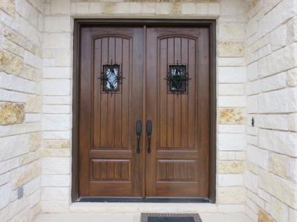 Clean Fiberglass Door