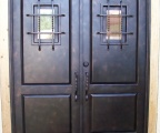 IDG1912-2_Panel_Iron_Double_Door_with_Speakeasy