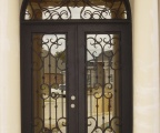 IDG1912-Bordeaux_Double_Iron_Door_with_Round_Top_Transom