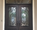 IDG1912-Daniella_Iron_Double_Door_with_Arch_Transom