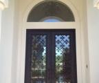 IDG1912-Fleur_de_Lis_Double_Iron_Door