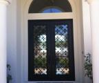 IDG1912-Fleur_de_Lis_Double_Iron_Door_(4)