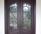 IDG1912-Granada_Square_Top_Arch_Lite_Arch_Panel_Double_Iron_Door_(4)