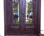 IDG1912-Granada_Square_Top_Double_Iron_Door