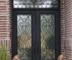 IDG1912-Isabela_Double_Iron_Door_with_Arch_Transom