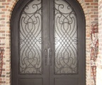IDG1912-Juliette_Round_Top_Double_Iron_Door