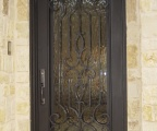 IDG1912-Kingston_Round_Top_Iron_Door