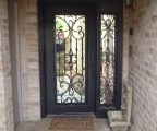 IDG1912-Livingston_Iron_Door_with_Sidelite