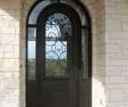 IDG1912-Marbella_Round_Top_Iron_Door_with_Wraparound_Transom_(5)
