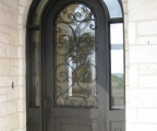 IDG1912-Marbella_Round_Top_Iron_Door_with_Wraparound_Transom_(6)