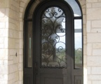 IDG1912-Marbella_Round_Top_Iron_Door_with_Wraparound_Transom_(7)