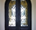 IDG1912-Milan_10ft_Round_Top_Double_Iron_Door