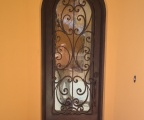 IDG1912-Milan_Round_Top_Iron_Door_with_Raised_Panel_(2)