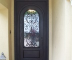 IDG1912-Milan_Round_Top_Iron_Door_with_Square_Top_Wraparound_(2)