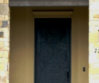IDG1912-Milan_Solid_Raised_Panel_Iron_Door