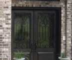 IDG1912-Monterrey_with_Raised_Panel_Double_Iron_Door