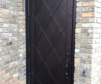 IDG1912-Rhombus_Pattern_Custom_Iron_Door
