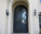 IDG1912-Saint_Lucia_Round_Top_Double_Iron_Door-rs