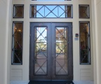 IDG1912-Shavano_Double_Iron_Door_with_Matching_Sidelite_and_Transom_Grills-rs