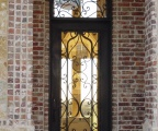 IDG1912-Venice_Full_Lite_Iron_Door_with_Round_Top_Transom